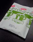 イギリス土産のマッシュルームスープの中身の袋